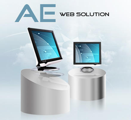 Web design company - AE web solution web designer provided design services ranging from web design, web maintenance, SEO search engine optimization, cms contents management system, online database, logo, name card, flyer and flash animation in Melaka Malaysia